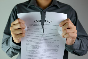 Tearing contract